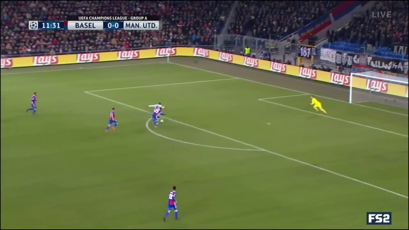 22-11-2017 - Basel 1-0 Manchester United (CHAMPIONS LEAGUE)
