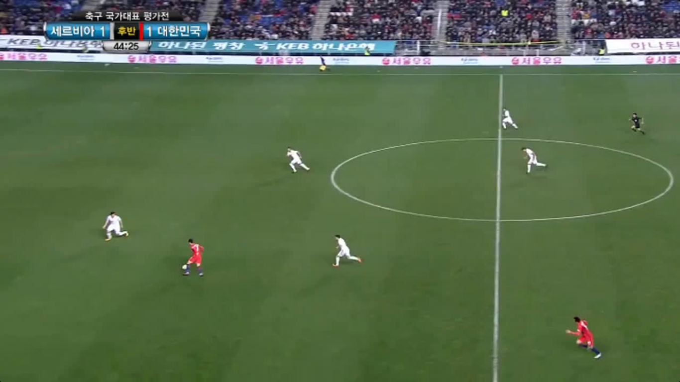 14-11-2017 - South Korea 1-1 Serbia (FRIENDLY)