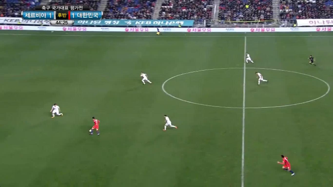 14-11-2017 - South Korea 1-1 Serbia (FRIENDLY)