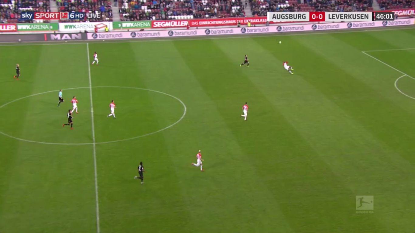 04-11-2017 - Augsburg 1-1 Bayer Leverkusen