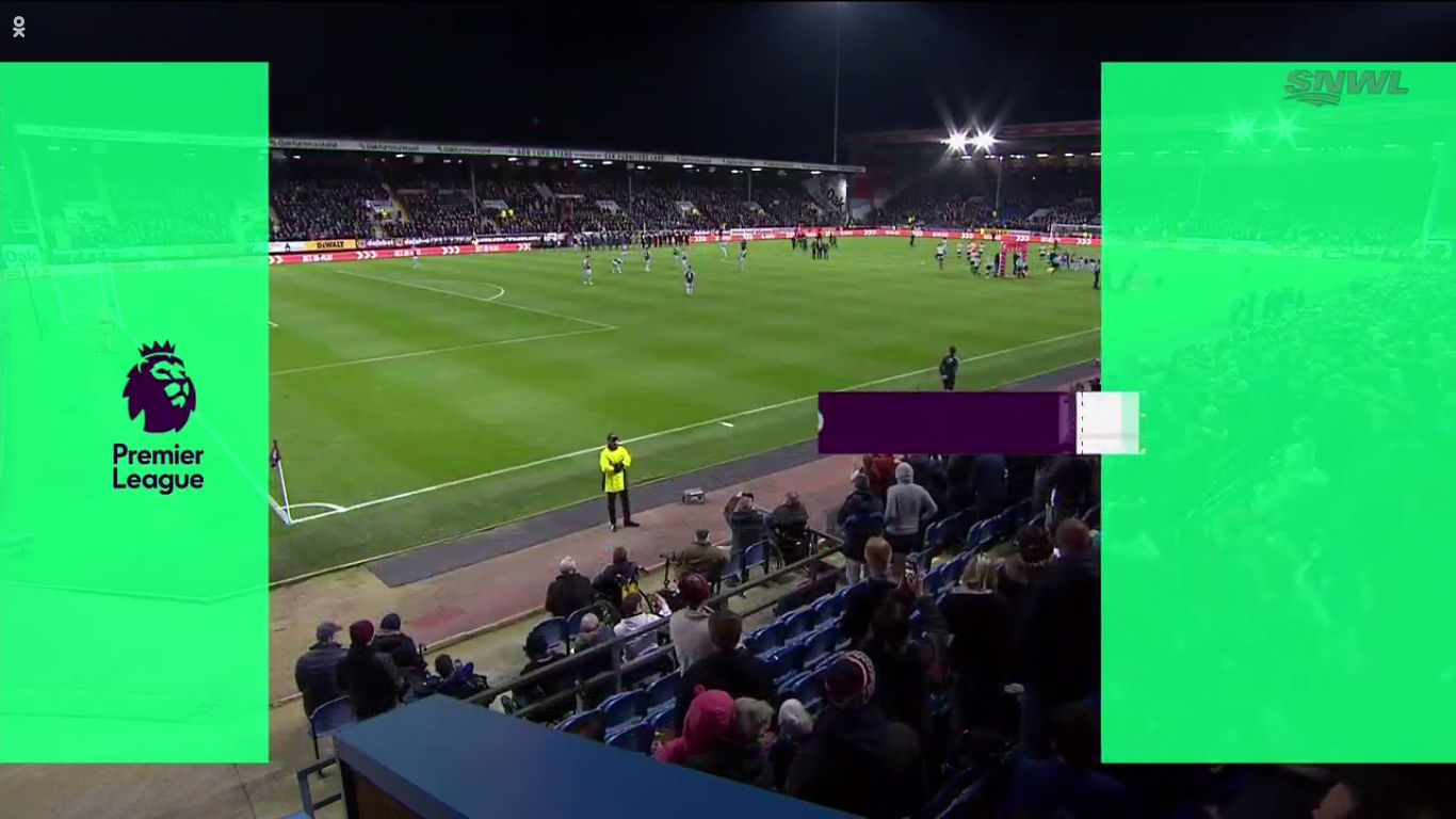 30-10-2017 - Burnley 1-0 Newcastle United