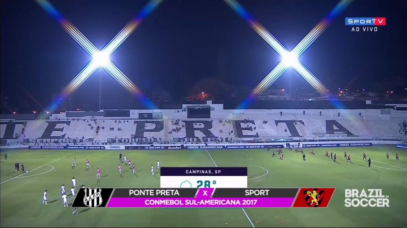 21-09-2017 - Ponte Preta 1-0 Sport Recife (COPA SUDAMERICANA)