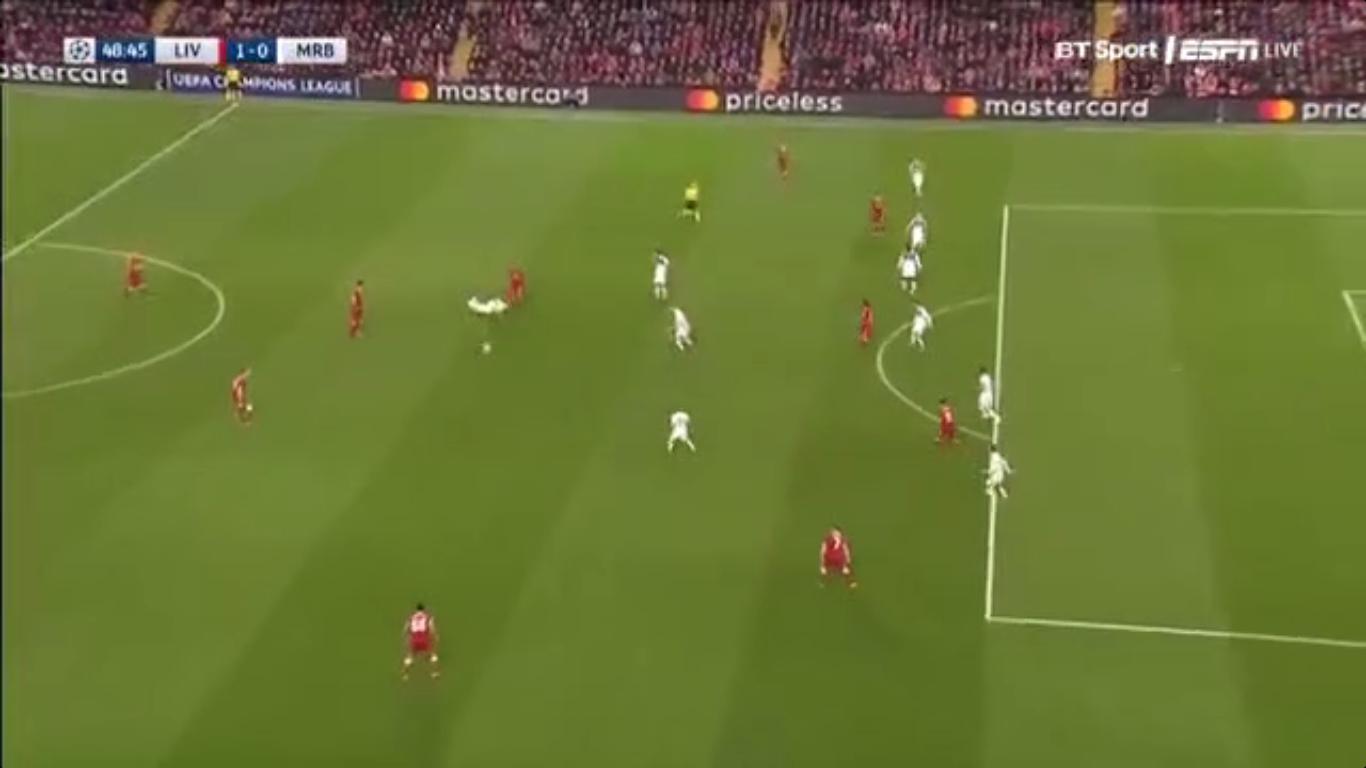 01-11-2017 - Liverpool 3-0 Maribor (CHAMPIONS LEAGUE)