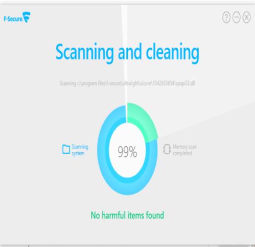 اداة وتنظيف الجهاز البرامج الضارة