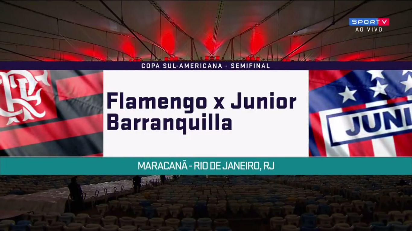 24-11-2017 - Flamengo 2-1 Atletico Junior (COPA SUDAMERICANA)