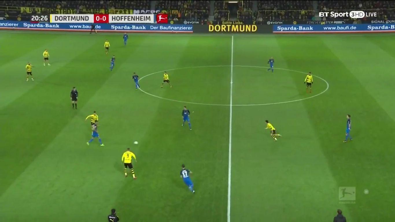 16-12-2017 - Borussia Dortmund 2-1 Hoffenheim