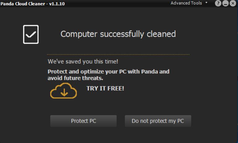 البرمجيات Panda Cloud Cleaner Portable Kedzbab.png