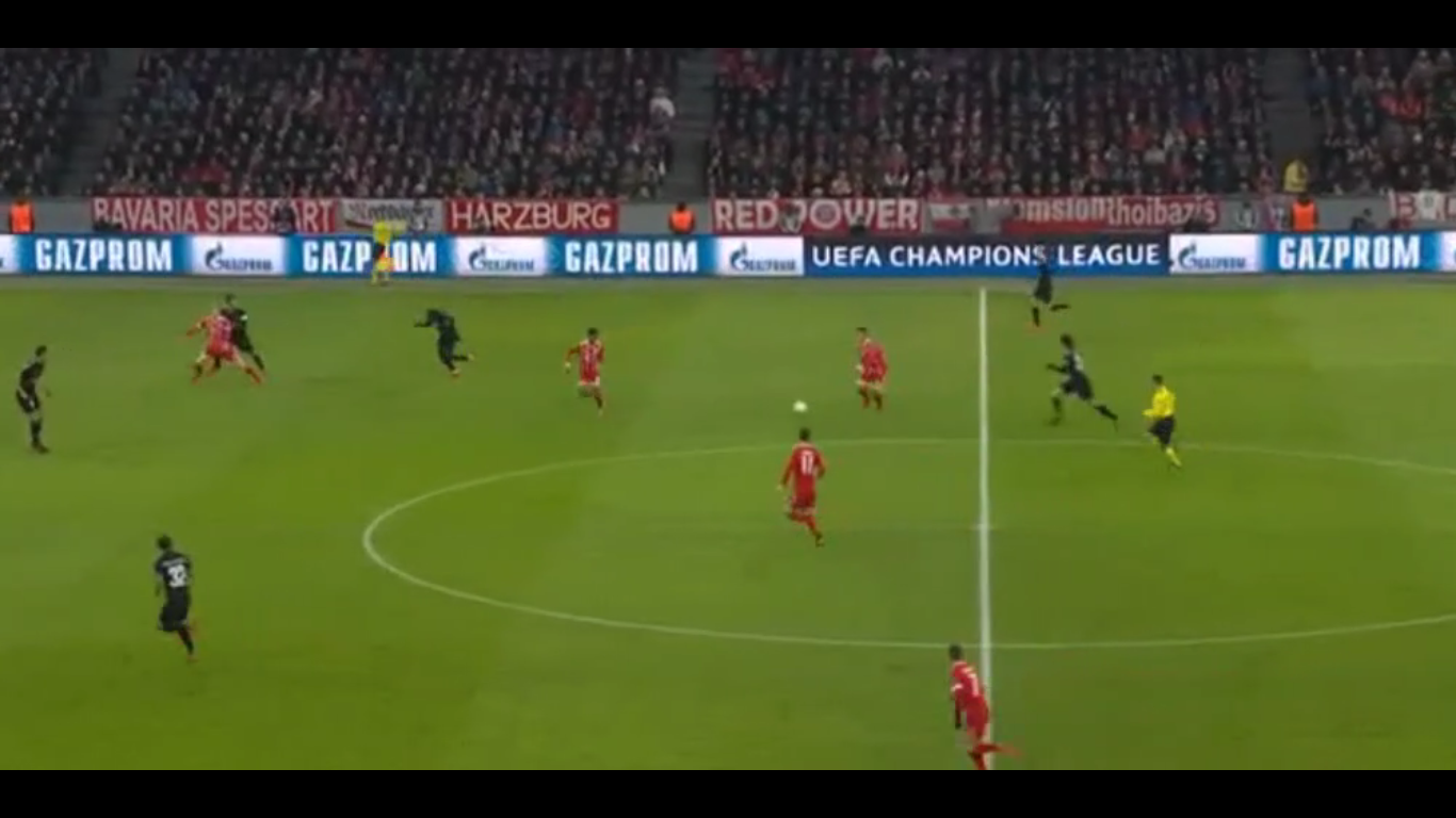 05-12-2017 - Bayern Munich 3-1 Paris Saint Germain (CHAMPIONS LEAGUE)