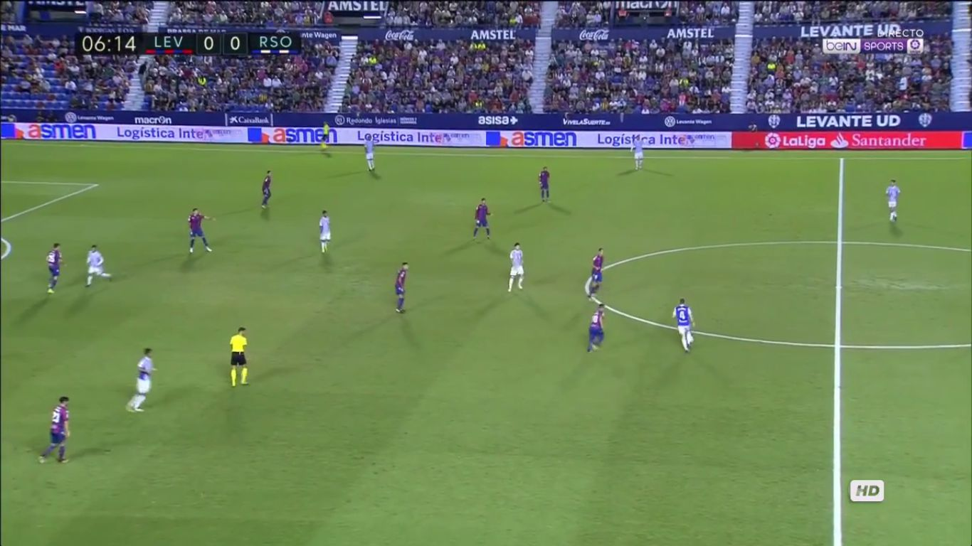 21-09-2017 - Levante 3-0 Real Sociedad