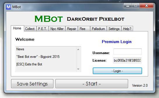 Mbot Darkorbit Pixel Bot