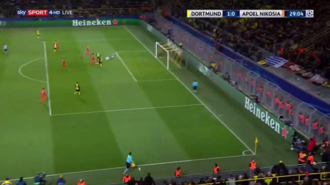 01-11-2017 - Borussia Dortmund 1-1 APOEL Nicosia (CHAMPIONS LEAGUE)