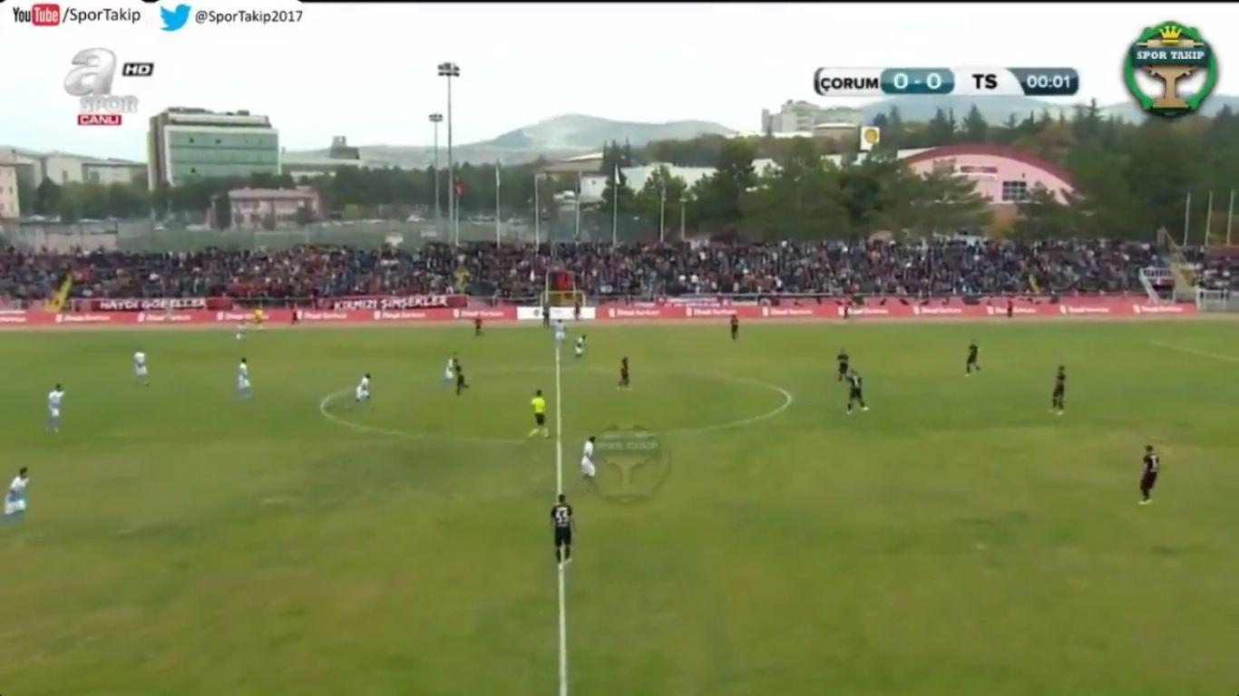 25-10-2017 - Corum Belediyespor 0-6 Trabzonspor (ZIRAAT CUP)