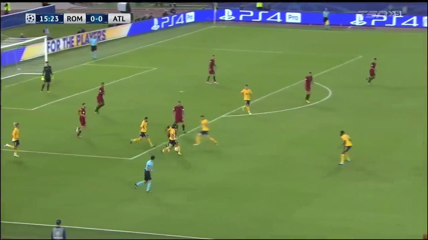 12-09-2017 - Roma 0-0 Atletico Madrid (CHAMPIONS LEAGUE)
