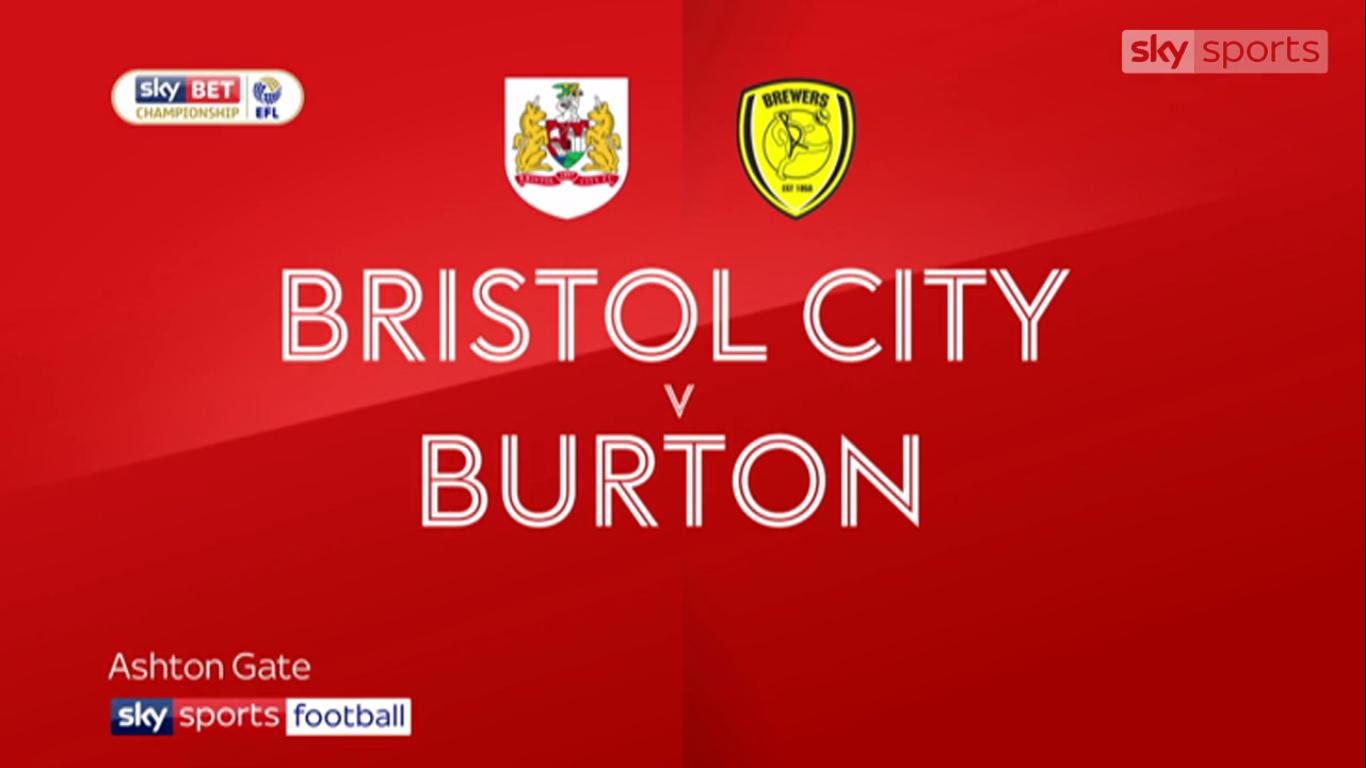 13-10-2017 - Bristol City 0-0 Burton Albion (CHAMPIONSHIP)