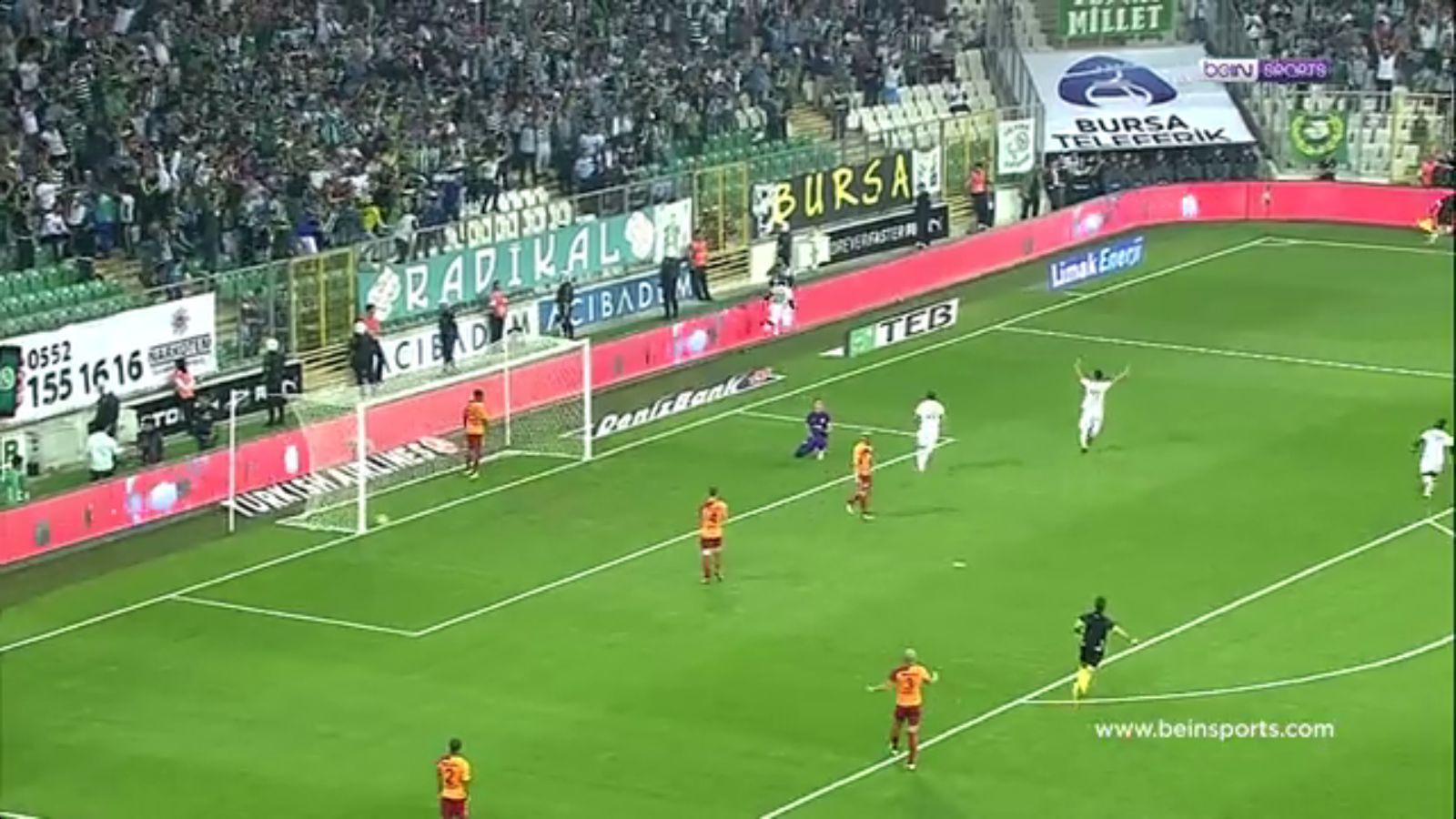 24-09-2017 - Bursaspor 1-2 Galatasaray