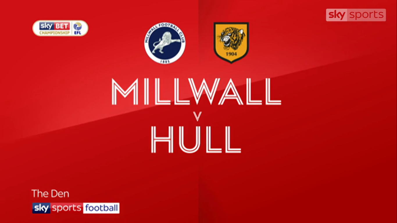 21-11-2017 - Millwall 0-0 Hull City (CHAMPIONSHIP)
