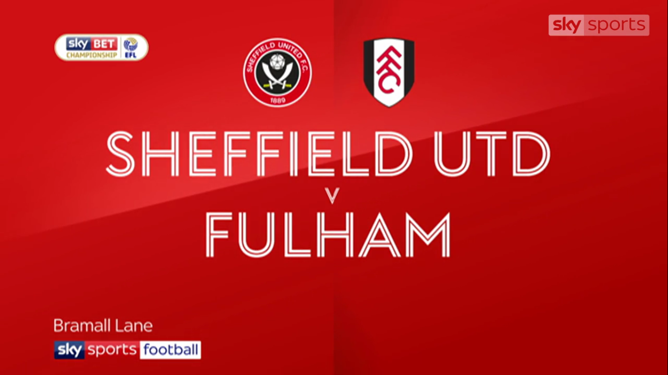 21-11-2017 - Sheffield United 4-5 Fulham (CHAMPIONSHIP)