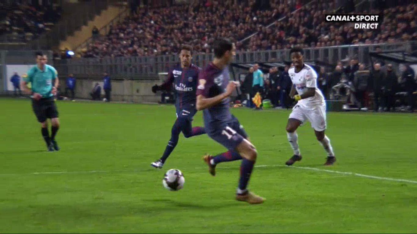 10-01-2018 - Amiens 0-2 Paris Saint Germain (LEAGUE CUP)