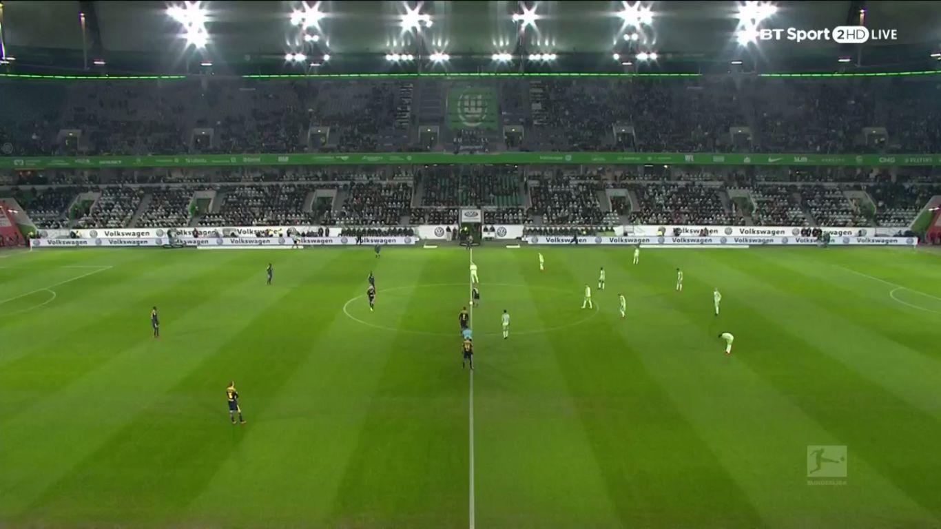 12-12-2017 - Wolfsburg 1-1 RasenBallsport Leipzig