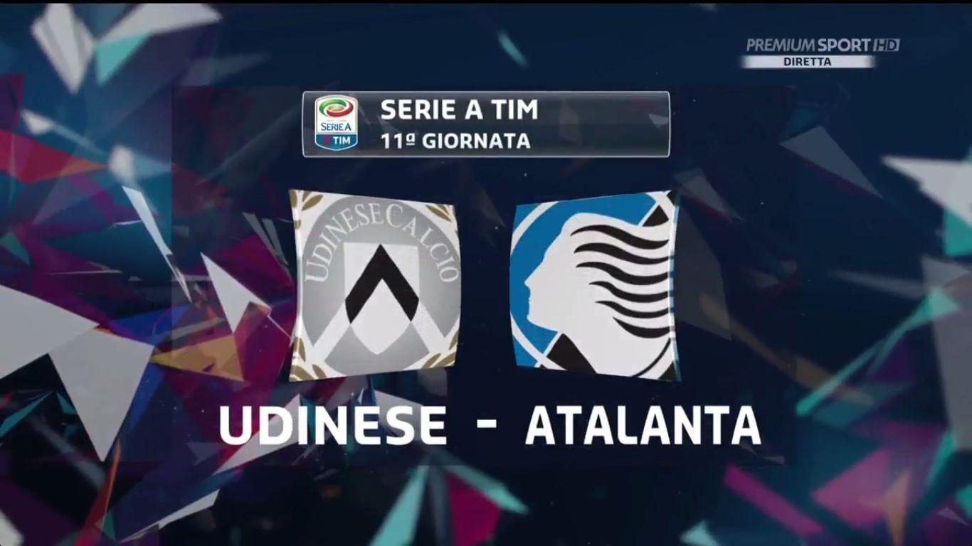 29-10-2017 - Udinese 2-1 Atalanta