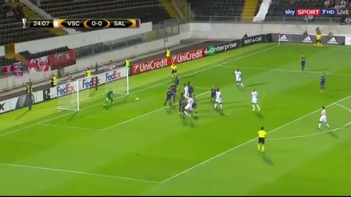 14-09-2017 - Vitoria de Guimaraes 1-1 Salzburg (EUROPA LEAGUE)
