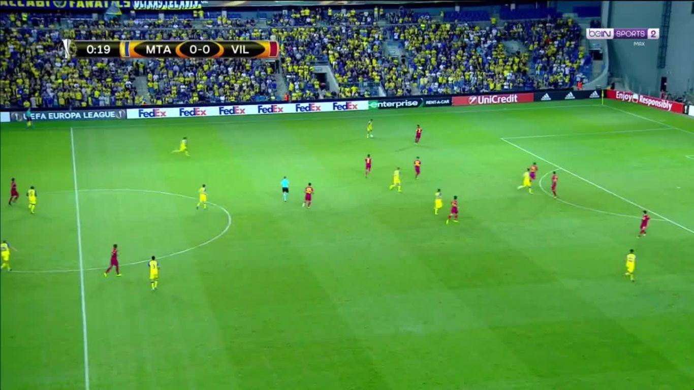 28-09-2017 - Maccabi Tel Aviv 0-0 Villarreal (EUROPA LEAGUE)