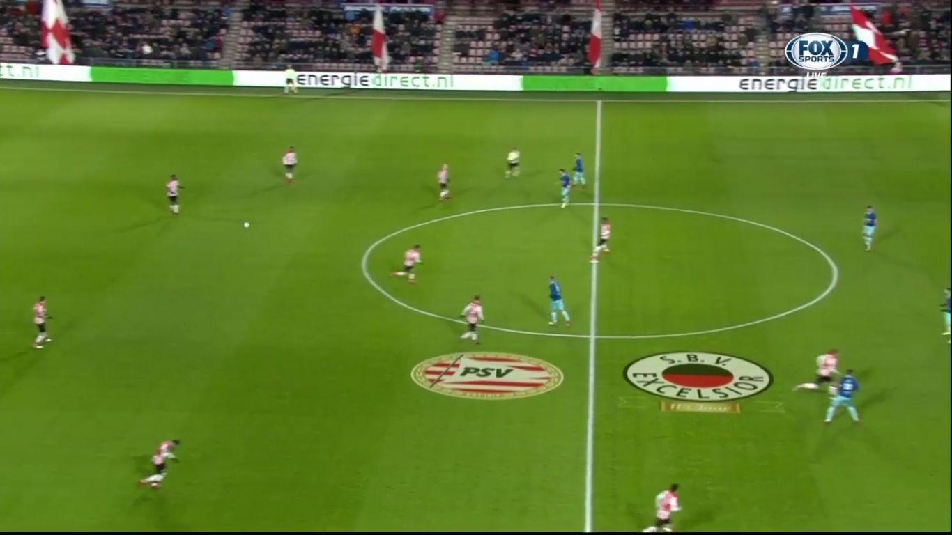 07-02-2018 - PSV Eindhoven 1-0 Excelsior