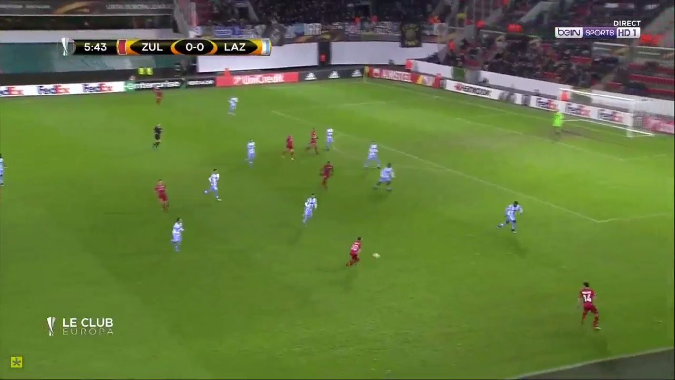07-12-2017 - Zulte-Waregem 3-2 Lazio (EUROPA LEAGUE)