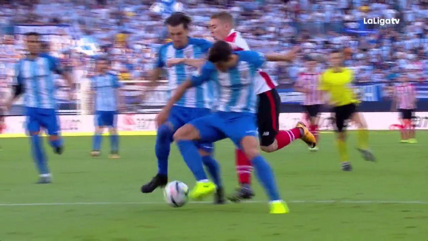 23-09-2017 - Malaga 3-3 Athletic Bilbao
