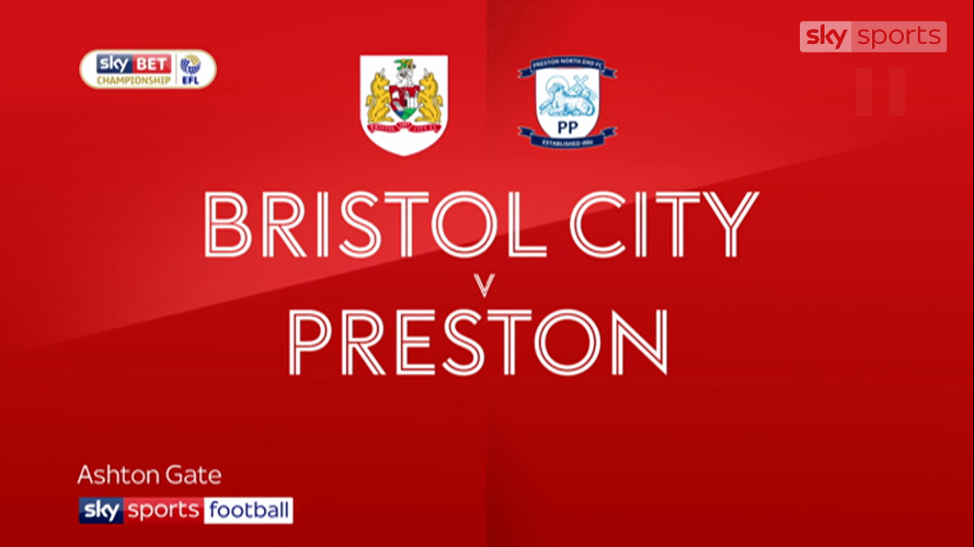 21-11-2017 - Bristol City 1-2 Preston North End (CHAMPIONSHIP)