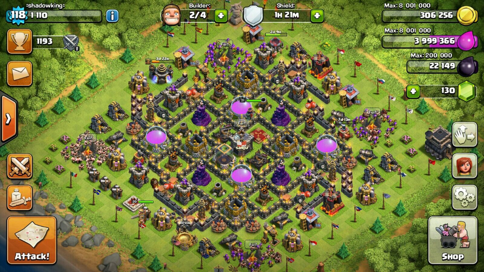 selling clash of clans account lvl 118 clash of clans forum neoseeker forums. Black Bedroom Furniture Sets. Home Design Ideas