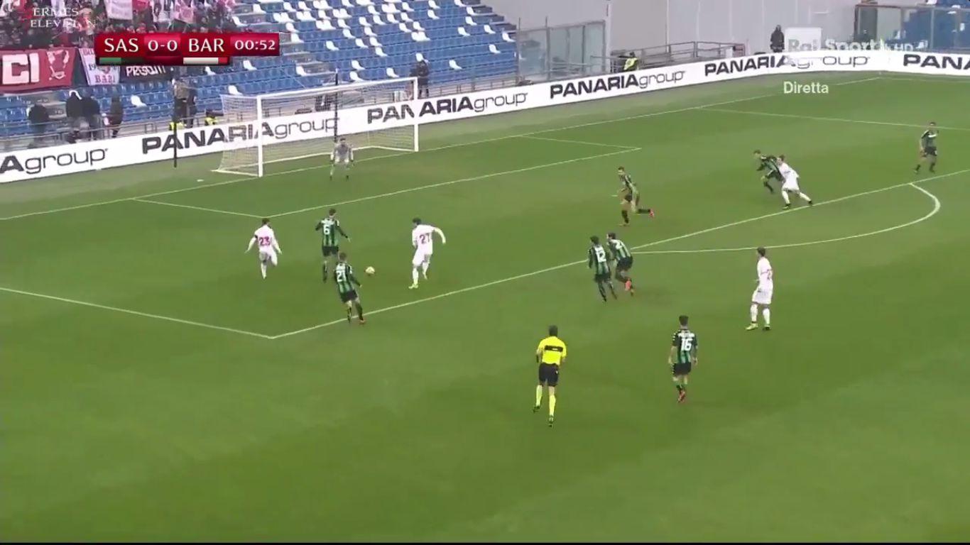 29-11-2017 - Sassuolo 2-1 Bari (COPPA ITALIA)