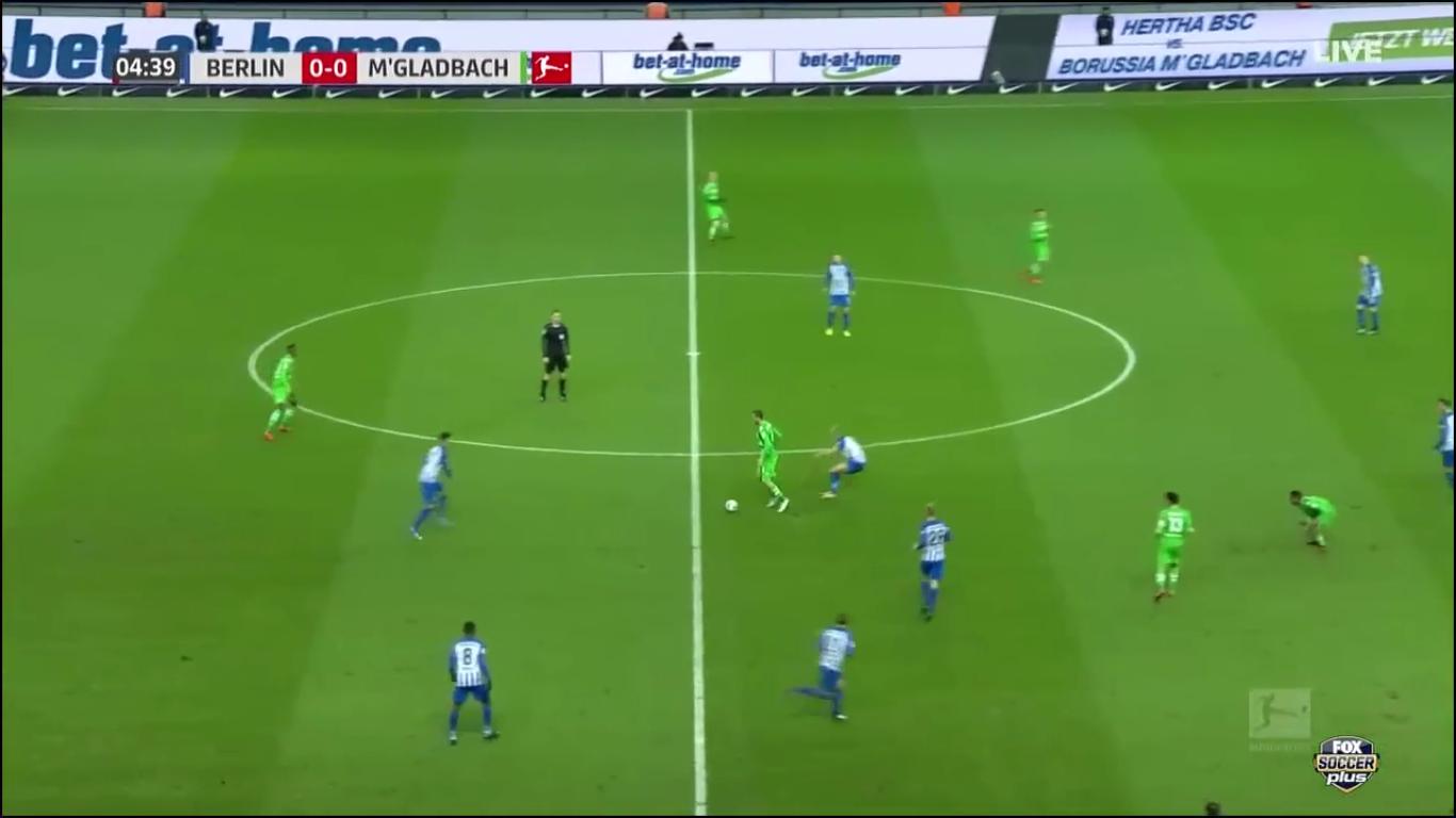 18-11-2017 - Hertha Berlin 2-4 Borussia Moenchengladbach