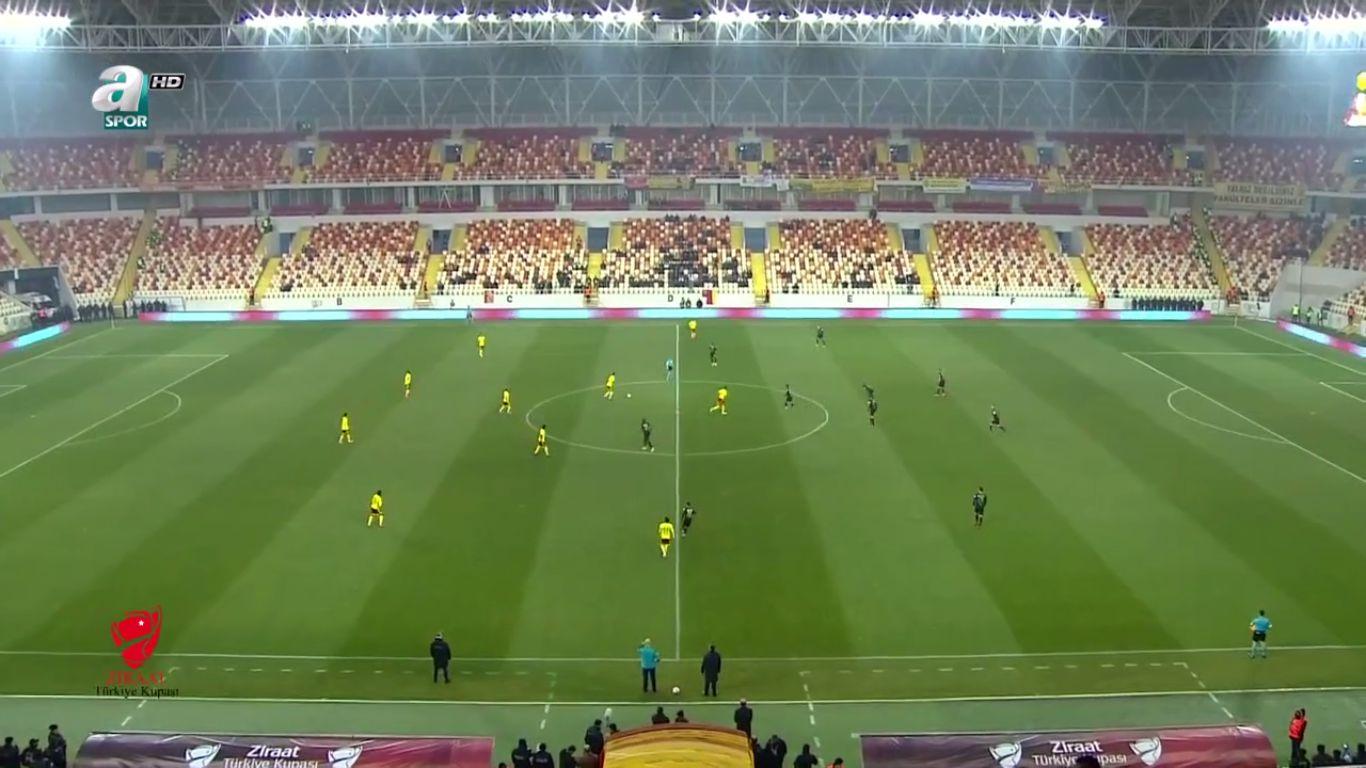 13-12-2017 - Yeni Malatyaspor 1-1 Osmanlispor FK (ZIRAAT CUP)