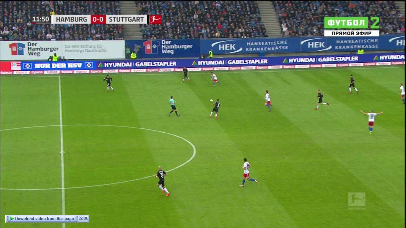 04-11-2017 - Hamburger SV 3-1 VfB Stuttgart