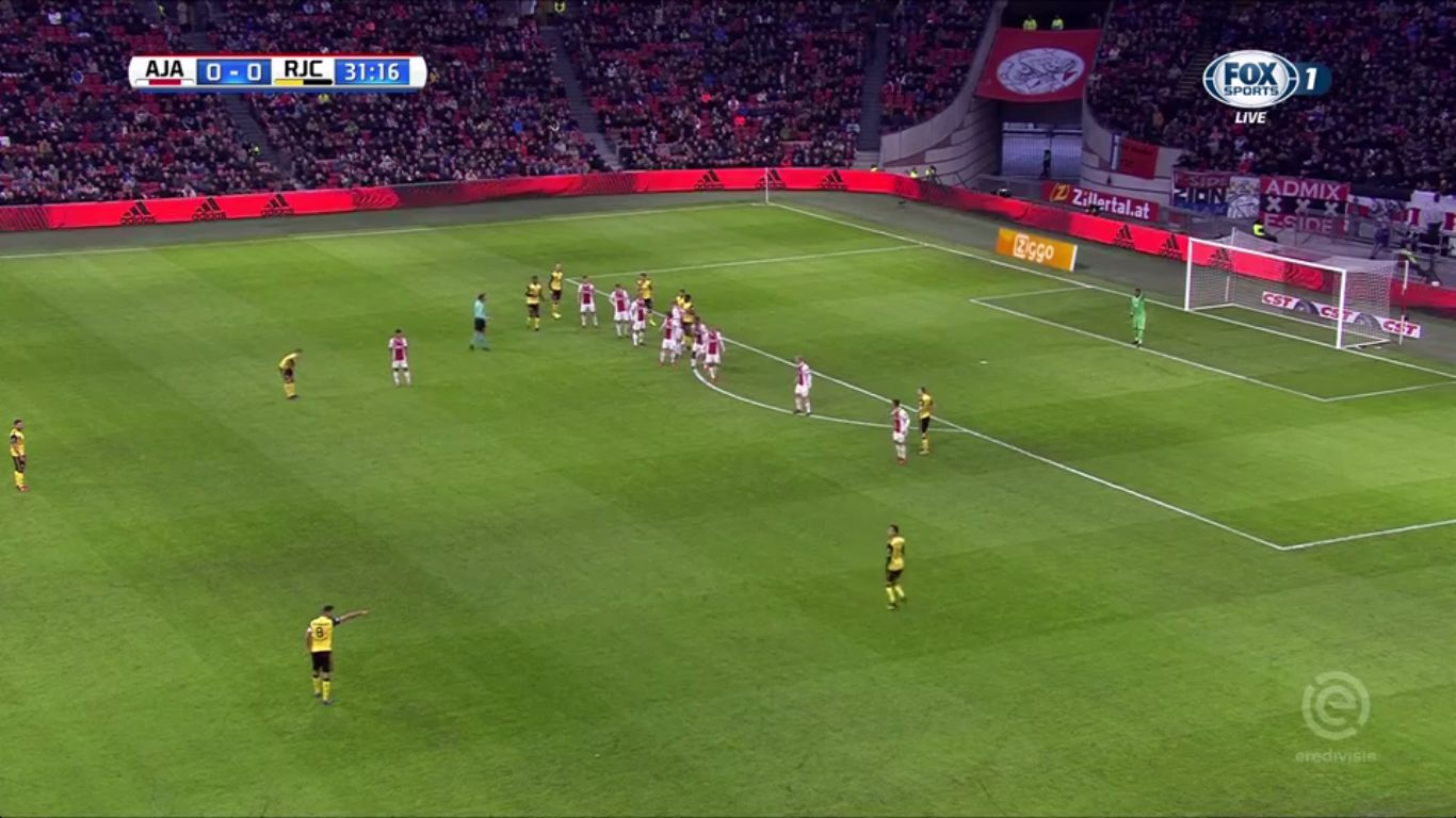 26-11-2017 - Ajax 5-1 Roda JC Kerkrade