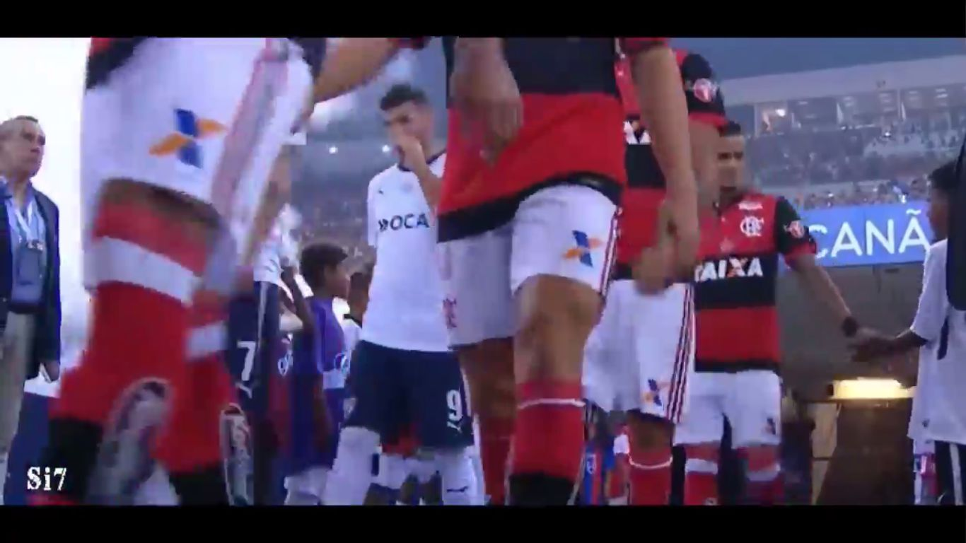 14-12-2017 - Flamengo 1-1 Independiente (COPA SUDAMERICANA)