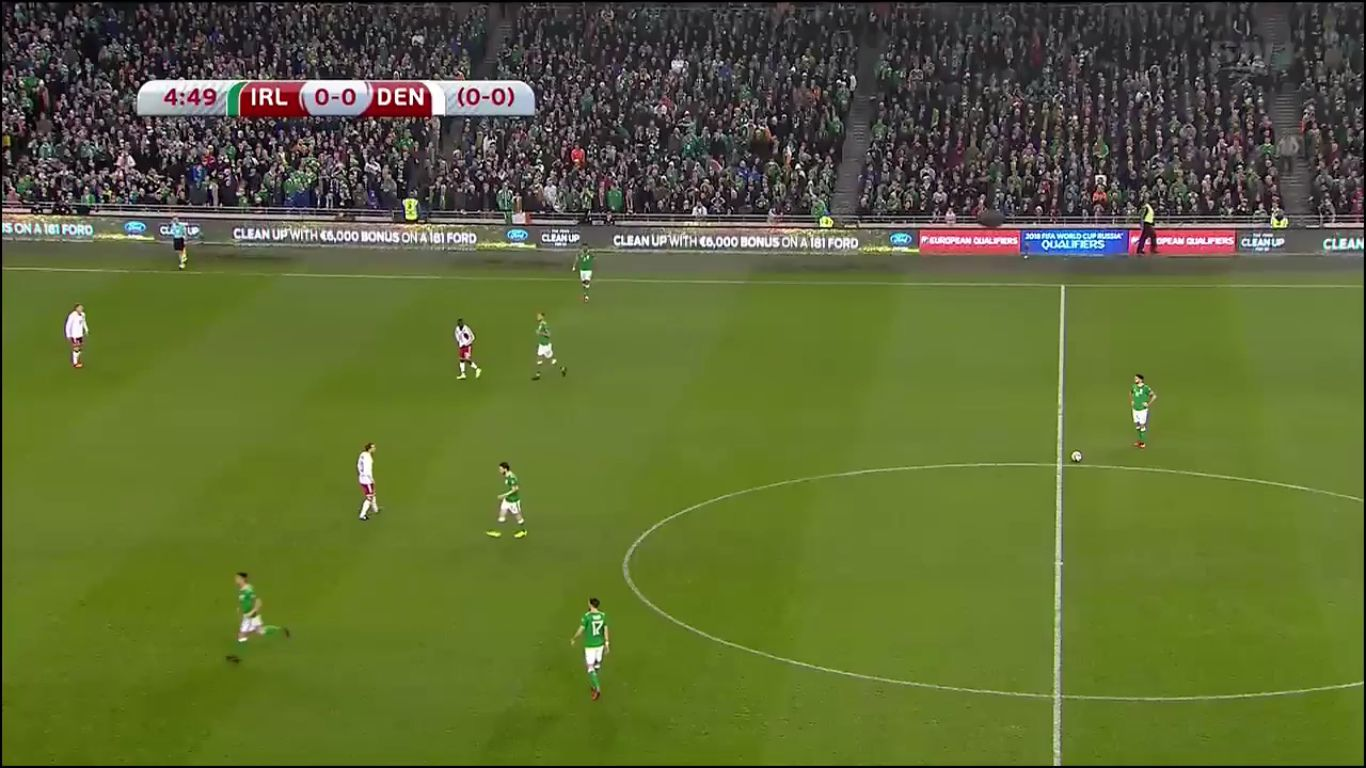 14-11-2017 - Ireland 1-5 Denmark (WORLD CUP QUALIF. PLAY OFF)