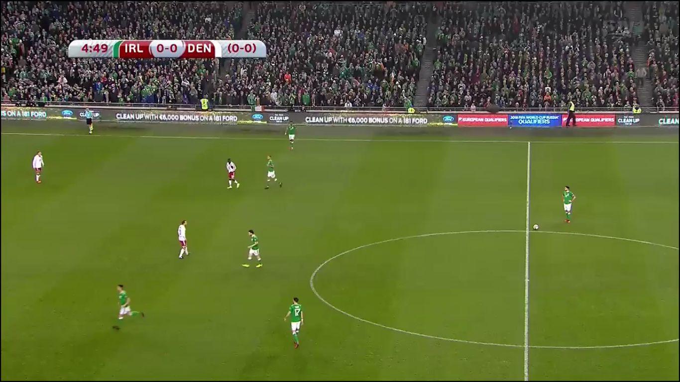 14-11-2017 - Ireland 1-5 Denmark (WORLD CUP QUALIF. PLAY OFF)