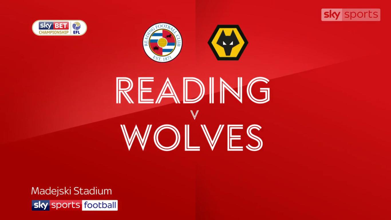 18-11-2017 - Reading 0-2 Wolverhampton Wanderers (CHAMPIONSHIP)
