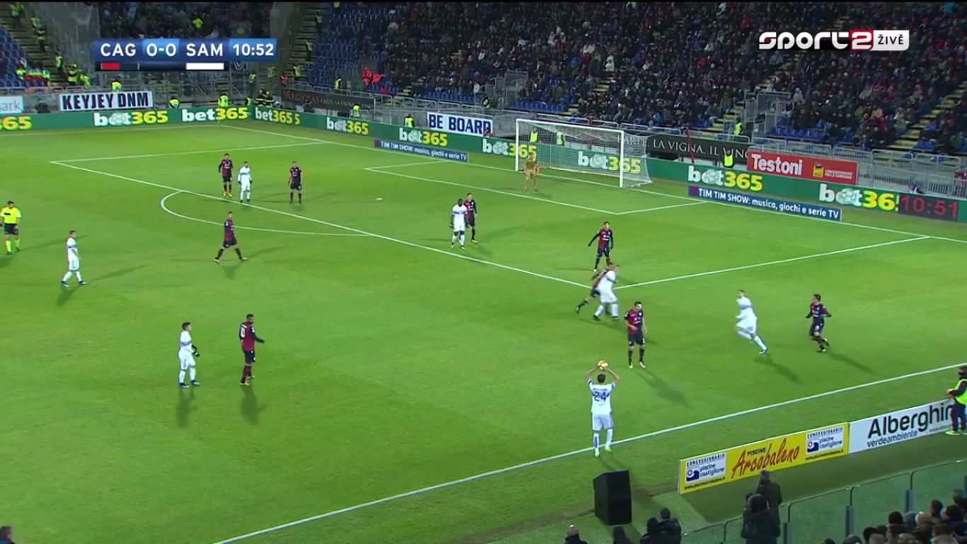 09-12-2017 - Cagliari 2-2 Sampdoria