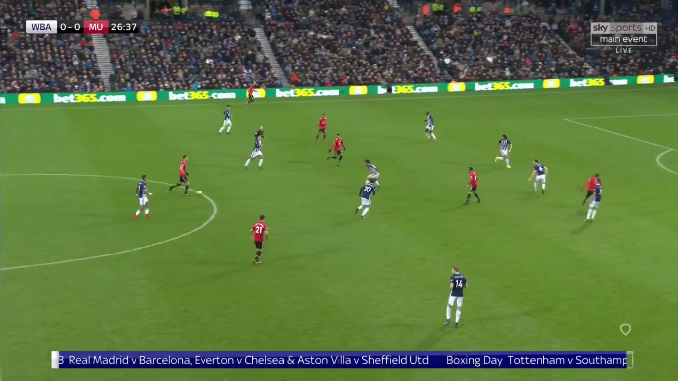 17-12-2017 - West Bromwich Albion 1-2 Manchester United