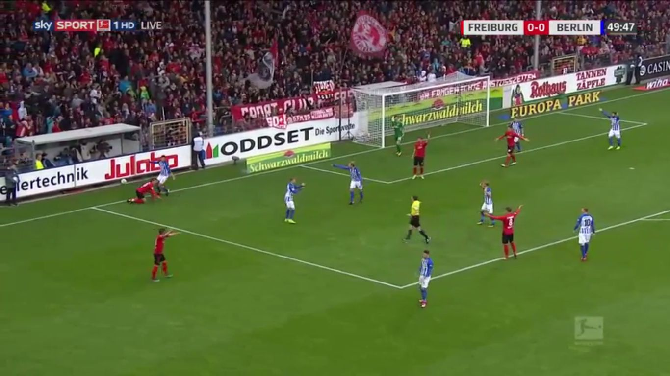 22-10-2017 - Freiburg 1-1 Hertha Berlin