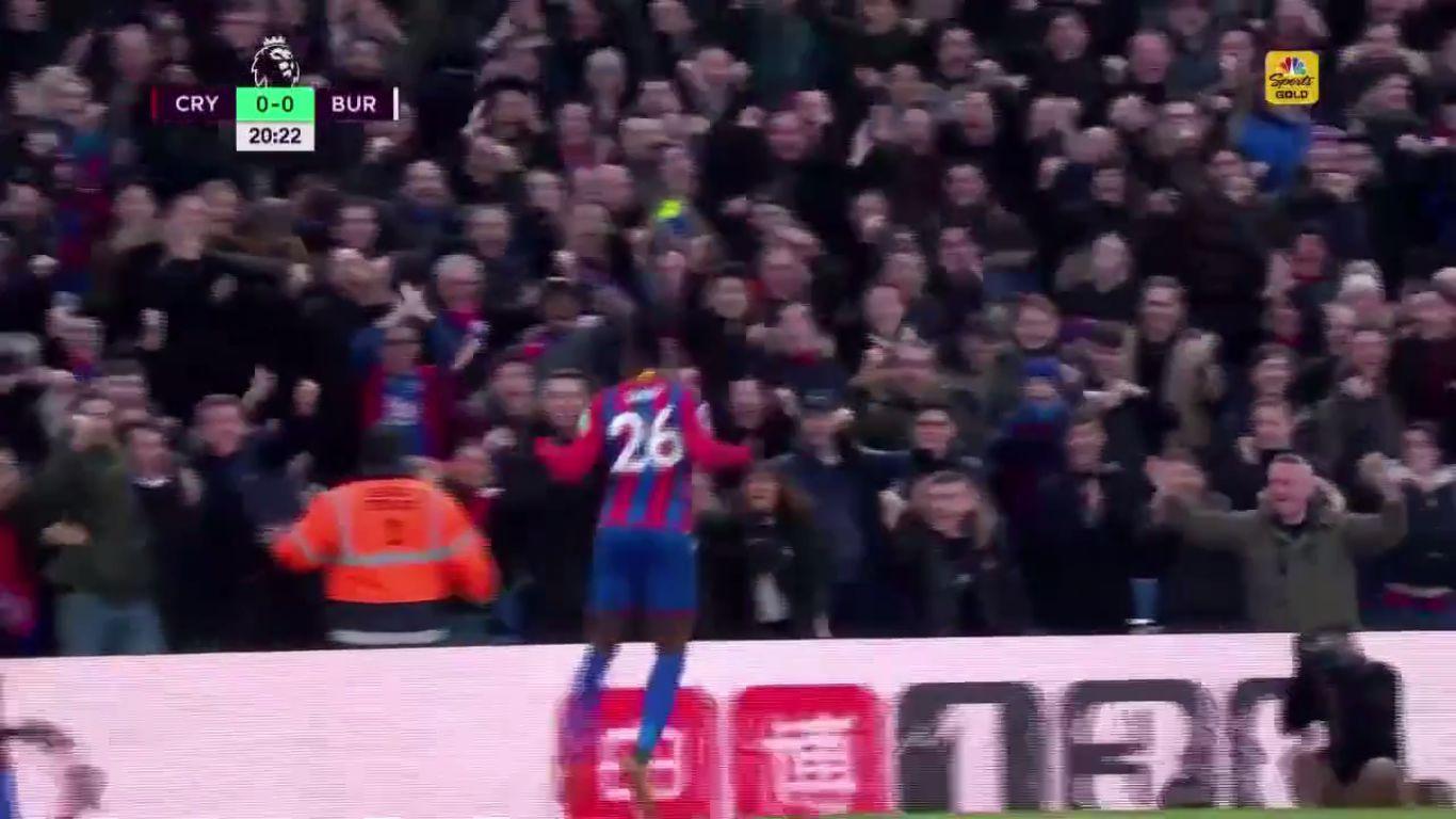 13-01-2018 - Crystal Palace 1-0 Burnley