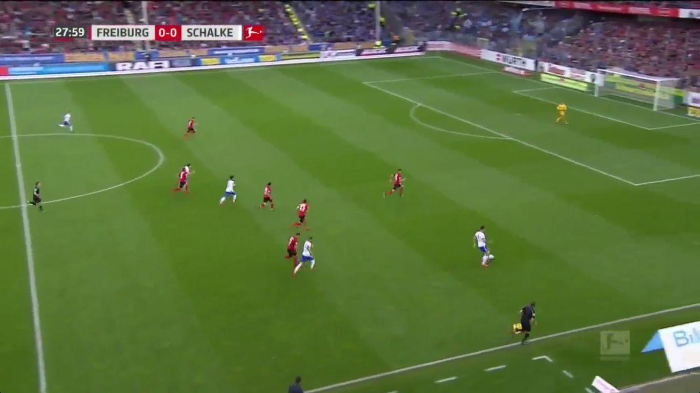 04-11-2017 - Freiburg 0-1 Schalke 04