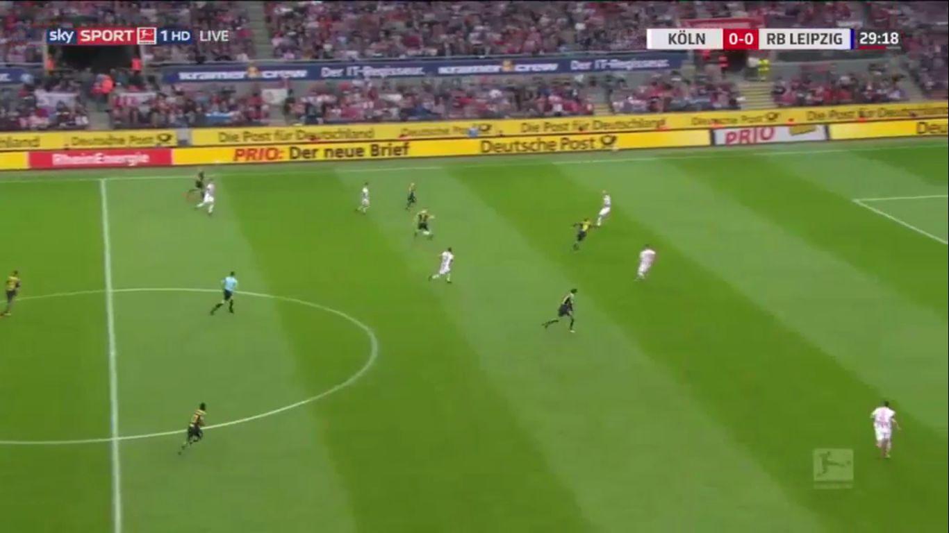 01-10-2017 - FC Cologne 1-2 RasenBallsport Leipzig