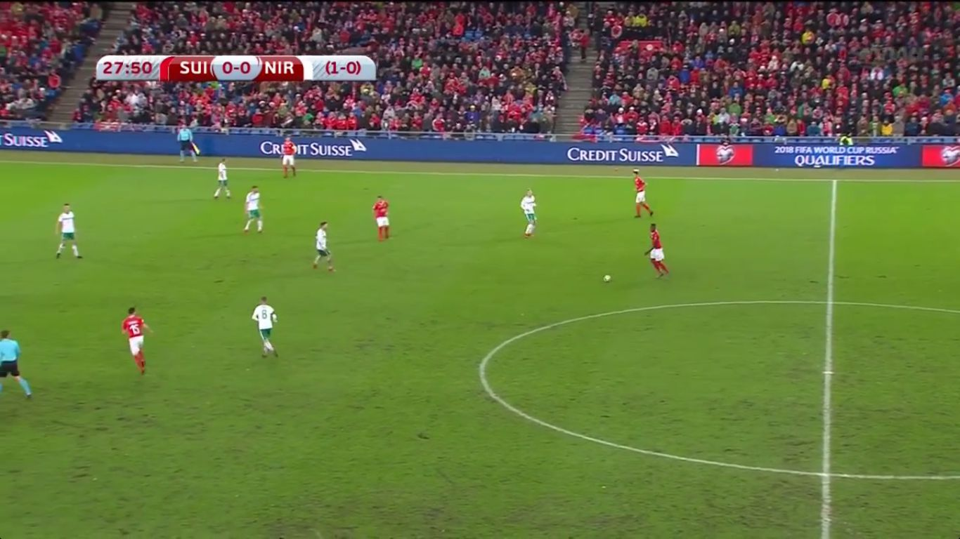 12-11-2017 - Switzerland 0-0 N.Ireland (WORLD CUP QUALIF. PLAY OFF)