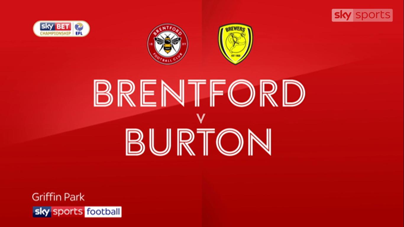 21-11-2017 - Brentford 1-1 Burton Albion (CHAMPIONSHIP)