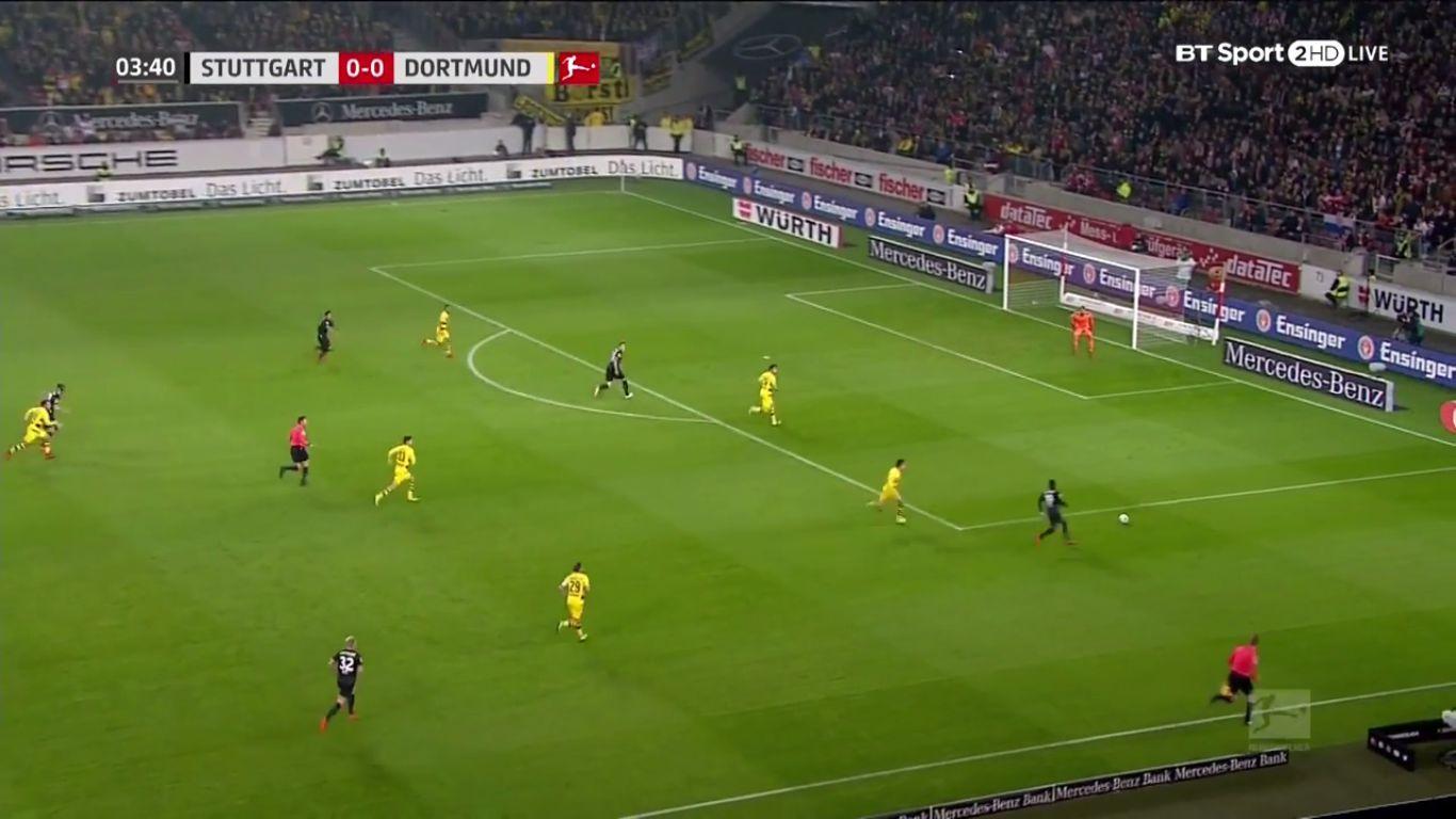 17-11-2017 - VfB Stuttgart 2-1 Borussia Dortmund