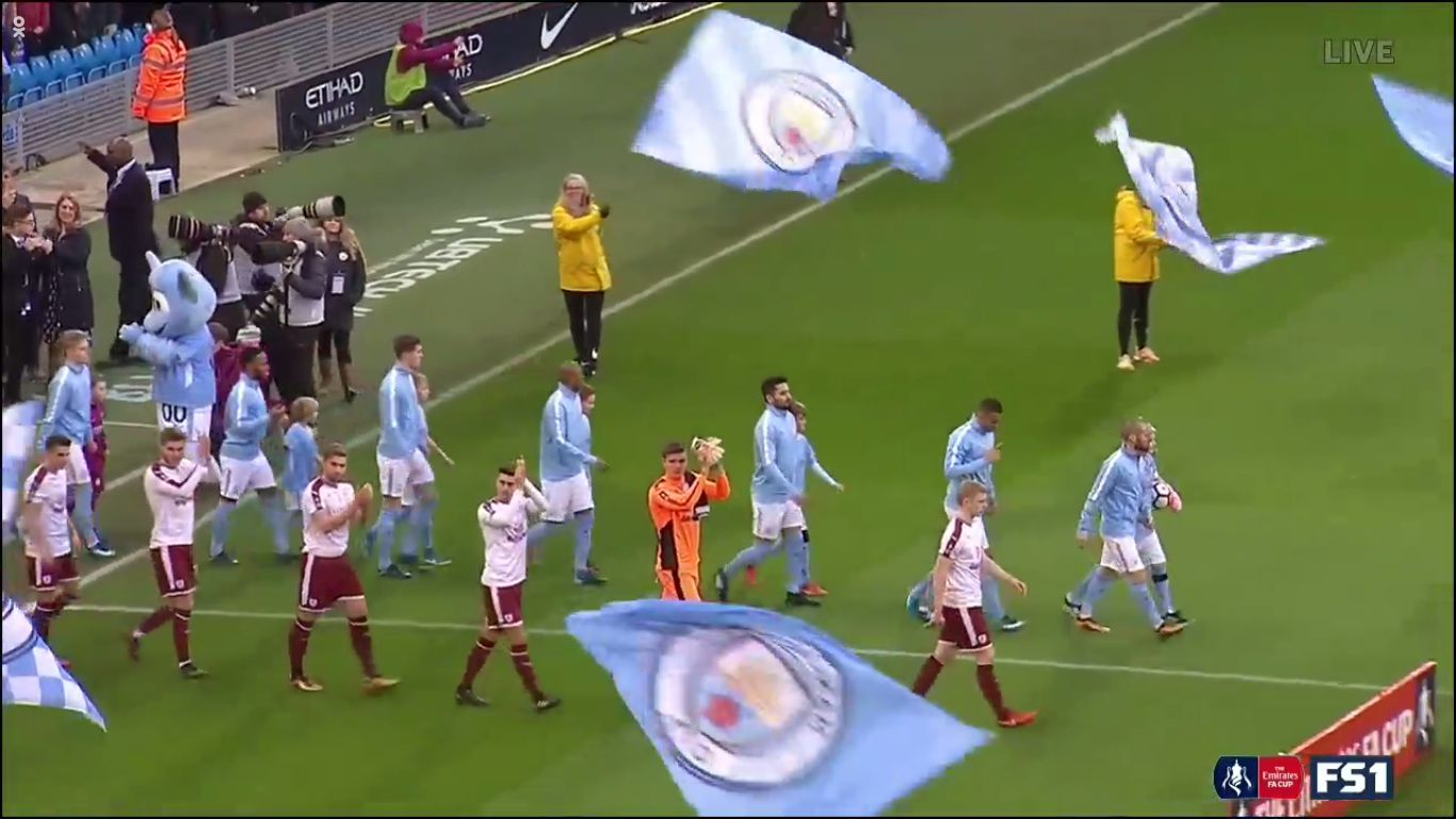 06-01-2018 - Manchester City 4-1 Burnley (FA CUP)